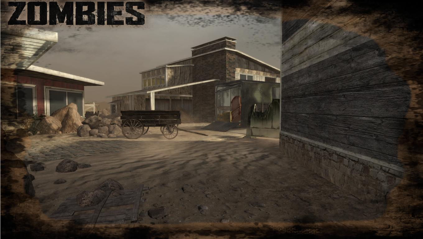 Nuketown 1886 Zombies Map